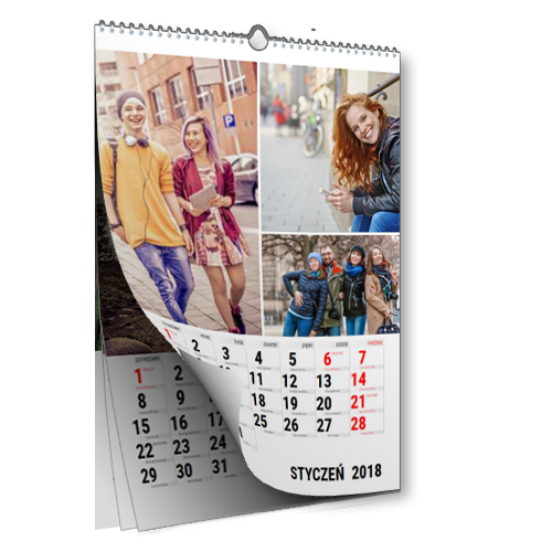 Kalendarz A3 Klasyczny