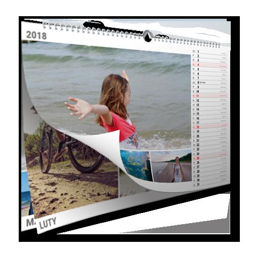Kalendarz A3 Poziom I