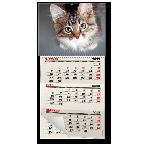 Kalendarz DUŻY z okienkiem